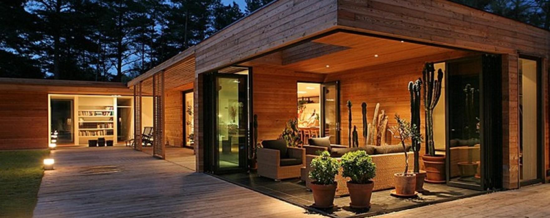 Sempre pi case di legno in ticino for Case in legno in polonia
