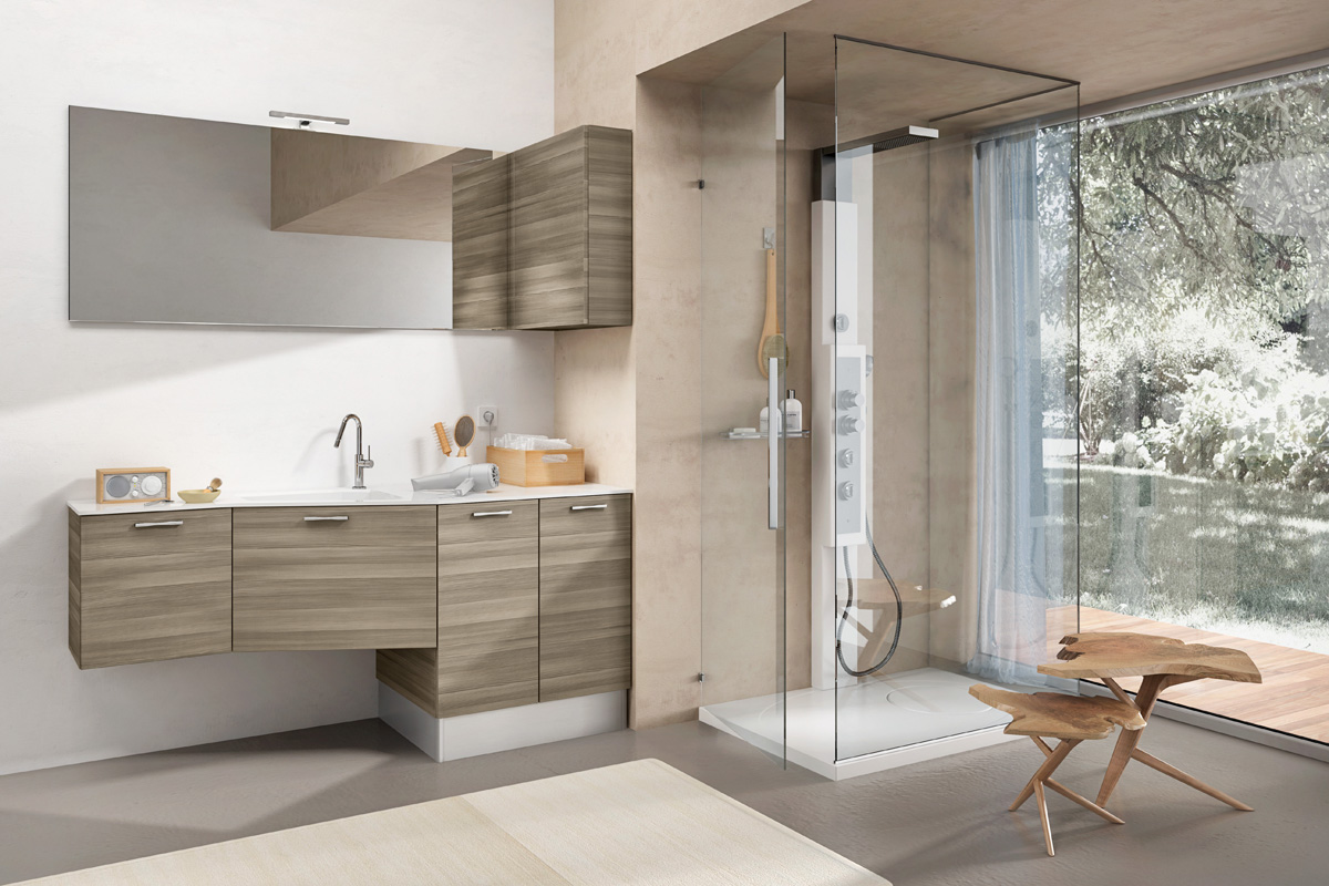 Bagno Stretto E Lungo Arredamento : Arredo bagno piccolo moderno. simple soluzioni per sfruttare lo
