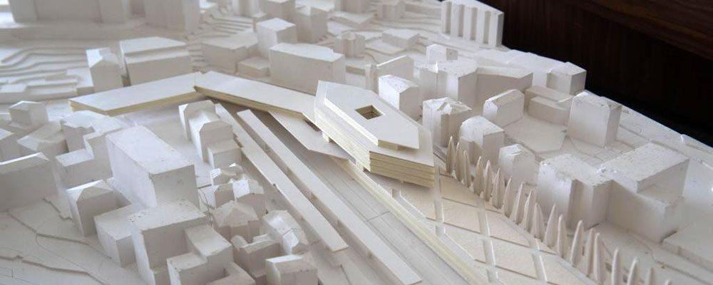 La nuova stazione di locarno sar disegnata da botta for Architettura disegnata