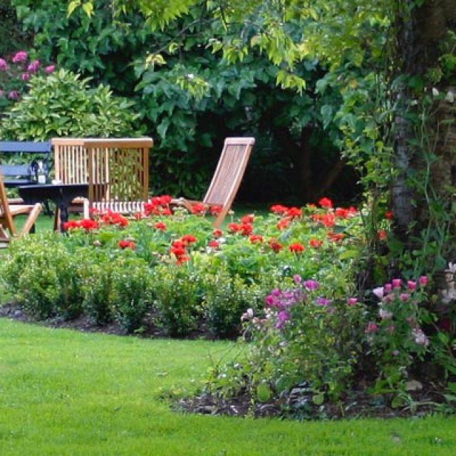 Un giardino cucito su misura